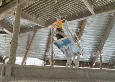 Spray Applied Fireproofing Insulation
